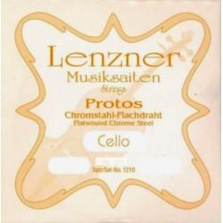 Lenzner Protos Cellosaiten SATZ 1/2 - mittel