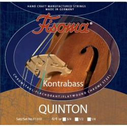 Fisoma Quinton Basssaiten SATZ 4/4 (Orch.) - mittel