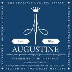 Augustine Imperial/Blue Konzertgitarrensaiten - high Tension