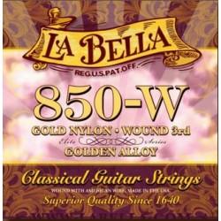 La Bella 850-W Konzertgitarrensaiten (G umsponnen)