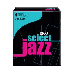 D'ADDARIO SELECT JAZZ UNFILED Sopransaxophon 4M