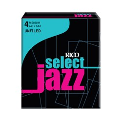 D'ADDARIO SELECT JAZZ UNFILED Altsaxophon 4M