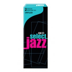 D'ADDARIO SELECT JAZZ UNFILED Baritonsaxophon 2M