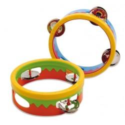 Voggenreiter Tamburin für Kleine ab 2 Jahren