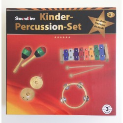 Soundfire Kinderpercussion-Set 4-teilig