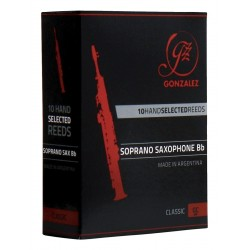 GONZALEZ Classic Sopransaxophon 2,5