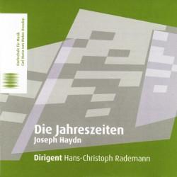 2 CDs: Joseph Haydn, Die Jahreszeiten: Aufnahme aus dem Konzertsaal der Hochschule vom 27.03.2011