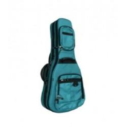 MSA GB91 Gig Bag für Konzertgitarre 4/4 türkis