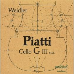 Piatti Cellosaite G 4/4 (Chrom) - mittel