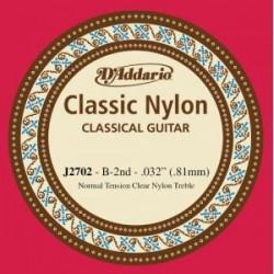 D'Addario EJ27 Classic Konzertgitarrensaite H/B2 - normal tension