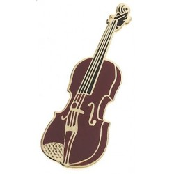 Anstecknadel Geige