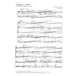 Swider, Józef: Maggiore - Minore für Sopran, Alt, Bariton und Klavier Singpartitur
