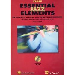 Steinel, Mike: Essential Jazz Elements (+2 CD's) : für Blasorchester Flöte