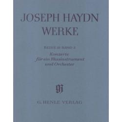 Haydn, Franz Joseph: Konzerte für ein Blasinstrument und Orchester : Partitur