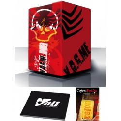 Cool Cajon Angry red Planet Size L (29x30x48,5cm)