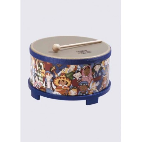 rhythm club floor tom remo f r kinder ab 3 jahren h he 145 mm durchmesser 250 mm mit. Black Bedroom Furniture Sets. Home Design Ideas