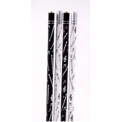 Bleistift Blockflöte mit Kristall (1 Stück)