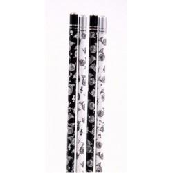 Bleistift Horn mit Kristall (1 Stück)