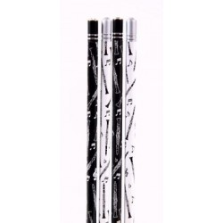 Bleistift Klarinette mit Kristall (1 Stück)