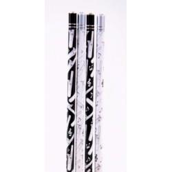 Bleistift Posaune mit Kristall (1 Stück)
