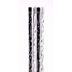 Bleistift Querflöte mit Kristall (1 Stück)