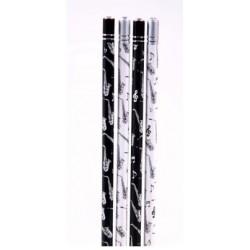Bleistift Saxophon mit Kristall (1 Stück)