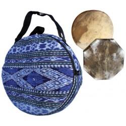 Terre Tasche für Schamanentromml bunt 40cm
