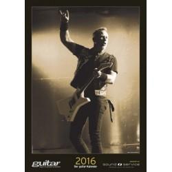Guitar Kalender 2016 Monatskalender 31x44cm