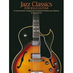 Jazz Classics : for guitar (vocal/tab)