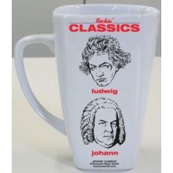 Becher Rockin' Classics weiß