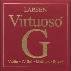 Larsen Virtuoso Violinsaite G 4/4 (Silber) - hart
