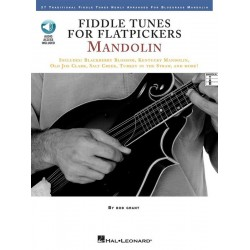 Fiddle Tunes for Flatpickers (+CD) : for mandolin (with tablature)