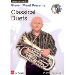 Clodomir, Pierre Francois: Classical Duets (+CD) : for euphonium (baritone/tenor horn) treble clef and bass clef