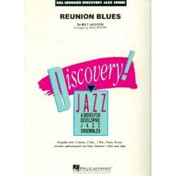 Jackson, Milt: Reunion Blues : for jazz ensemble score and parts