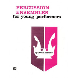 Percussion Ensembles for young Performers, score