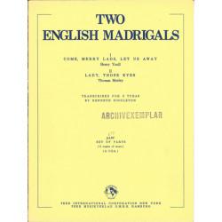 Singleton, Kenneth: 2 English Madrigals : for 3 tubas