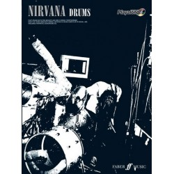 Nirvana (+CD) : Authentic Drums Playalong songbook vocal/drums