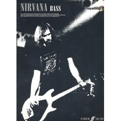 Nirvana (+CD) : Authentic Bass Playalong songbook vocal/bass/tab