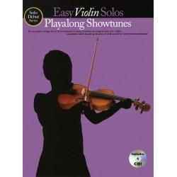 Solo Début Showtunes (+CD) : for violin piano accompaniment downloadable