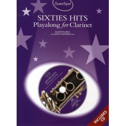 Sixties Hits (+CD) : for clarinet Guest Spot Playalong