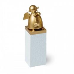 """REICHEL Schutzengel """"Gold mit Trompete"""""""