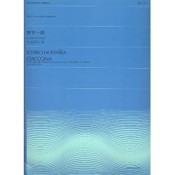 Bach, Johann Sebastian: Chaconne aus der Partita Nr.2 BWV1004 für Violine : für 4 Violen Partitur und Stimmen