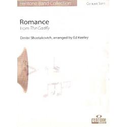Romance aus The Gadfly : für Altsaxophon und Blasorchester Partitur und Stimmen