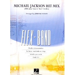 Michael Jackson Hit Mix : for flexible ensemble score and parts