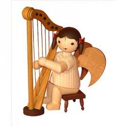 ULMIK Schleifenengel mit Harfe 14 cm