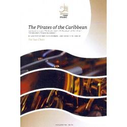 Badelt, Klaus: Pirates of the Caribbean : f├╝r Saxophon-Ensemble (SAAATTBar) Partitur und Stimmen