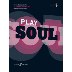 Play Soul (+CD): for clarinet and piano