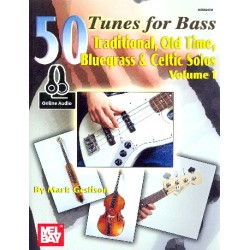 Geslison, Mark: 50 Tunes vol.1 (+Online Audio Access) : for bass/tab