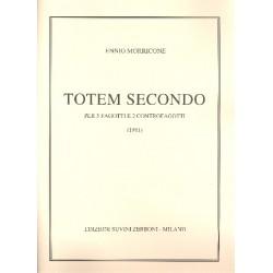 Morricone, Ennio: Totem secondo : für 5 Fagotte und 2 Kontrafagotte Partitur