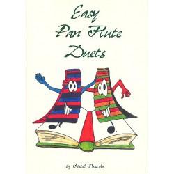 Easy Pan Flute Duets score